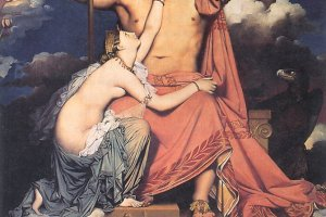 Jean-Auguste-Dominique Ingres, 'Jupiter and Thetis' 1811