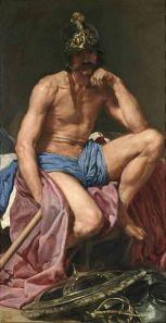 'Marte', Diego Velázquez, 1639-41, Museo del Prado, Madrid