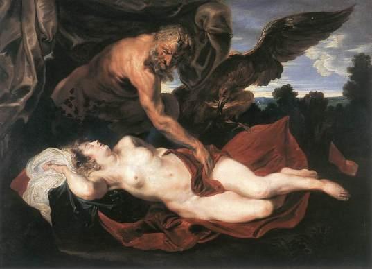 'Júpiter y Antíope', Sir Anthony van Dyck, primera mitad del siglo XVII, Museo voor Schone Kunsten, Ghent