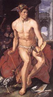 'Mercurio', Hendrick Goltzius, 1611, Frans Hals Museum, Haarlem-Holanda