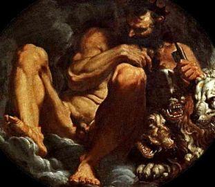 Pluto – Hades, Agostino Carracci, 1592. Galleria e Museo Estense, Modena, Italy.