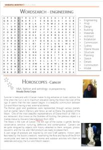 V&A horoscope July-Cancer