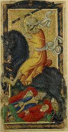 La Muerte,Tarot de Carlos VI, siglo XV