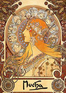Zodiaco, Alphonse Mucha