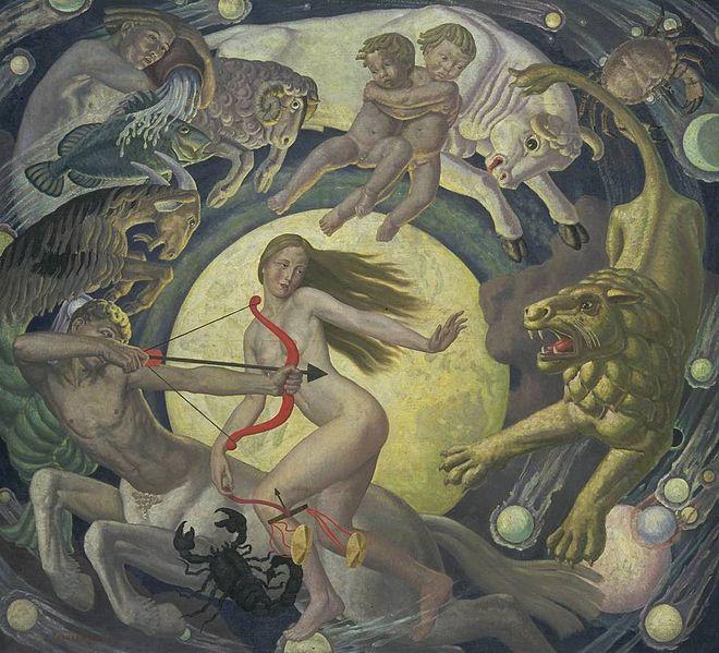 'El zodiaco;' Ernest Procter, Tete Gallery, Londres