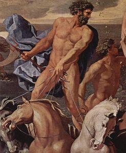 'El triunfo de Neptuno', de  Nicolas Poussin, 1634-1637,  Philadelphia Museum of Art , USA.