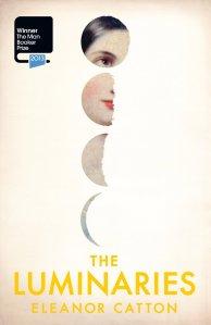"""Portada del libro """"The Lunimaries"""" de Eleanor Catton. Imagen Amazon."""