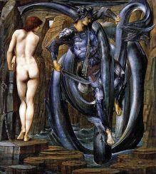 Burne-Jones, Edward 'Perseo ciclo 7: La condenación satisfecha ', 1888, Staatsgalerie Stuttgart, Alemania. Wikimedia Commons, 15 Diciembre 2013