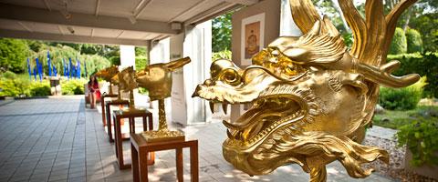 Ai Weiwei, Circulo de los Aninales/ Zodiaco: Oro, 2014. Moscú, Rusia. Imagen de la nota de prensa.