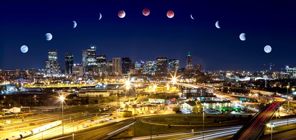 Regency3900, Cass Letson 'Luna de Sangre'. Foto: eclipse total de Luna, 14 abril 2014. Wikimedia Commons 18 abril 2014.