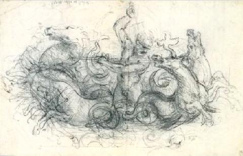 Leonardo Da Vinci 'Neptuno, 1503. Metropolitan Museum, Nueva York, USA. Wikimedia Commons 4 marzo 2007