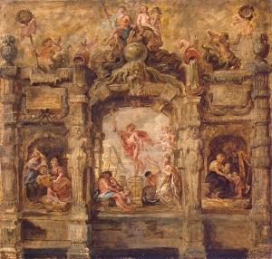 Peter Paul Rubens 'Mercurio alejándose', 1634. óleo sobre madera. San Petersburgo, Museo del Hermitage, Rusia. Wikimedia Commons 16 febrero 2012