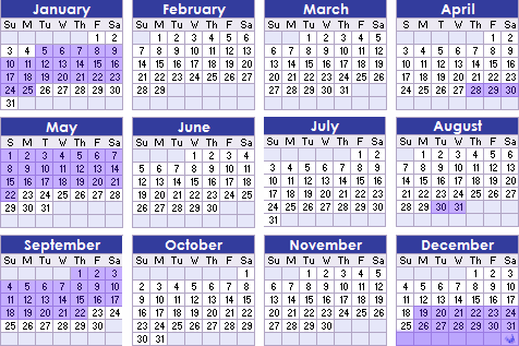 Cortesía de http://www.light-weaver.com/calendar/2009.html