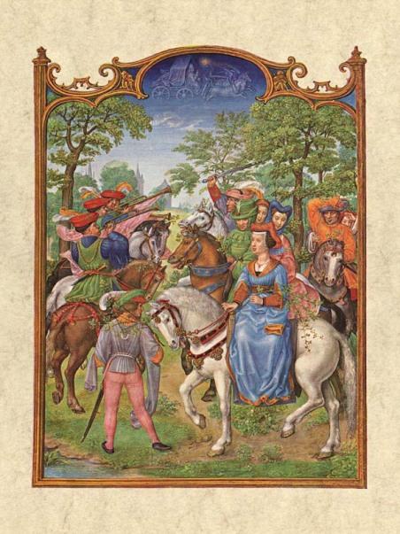 Gerard Horenbout, Alexander & Simon Bening 'Mayo', 1510 Fuente Venecia, Biblioteca Marciana. Wikimedia Commons 25 septiembre 2006