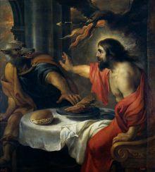 """Jan Cossiers """"Júpiter y Licaón"""", úleo en lienzo del siglo 17. Museo del Prado, Madrid-España. Wikimedia Commons 20 marzo 2014"""