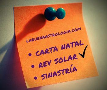 Carta Natal rev solar sinastría relocación